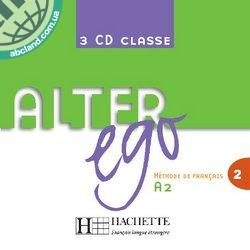 Alter Ego : Niveau 2 CD audio classe (x3)