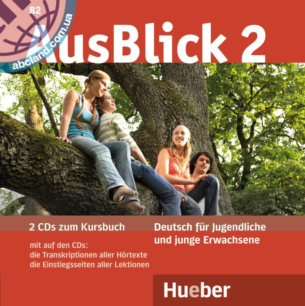 AusBlick 2. 2 Audio-CDs zum Kursbuch