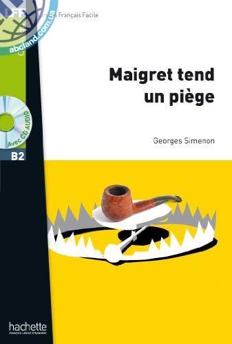 B2 Maigret tend un piege + CD audio MP3 (Simenon)