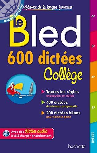 BLED 600 DICTEES COLLEGE NEW
