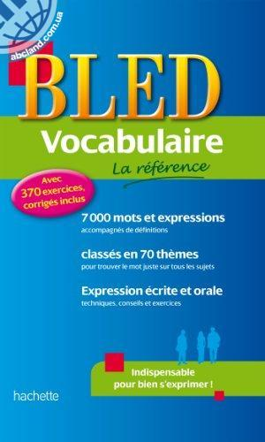 BLED Vocabulaire de Francais