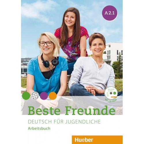 Beste Freunde A2.1. Arbeitsbuch mit CD-ROM