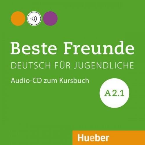 Beste Freunde A2.1. Audio-CD zum Kursbuch