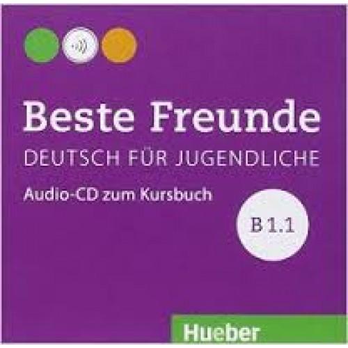 Beste Freunde B1.1. Audio-CD zum Kursbuch