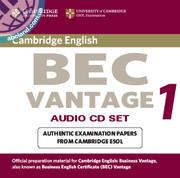 Cambridge BEC 1 Vantage Audio CD