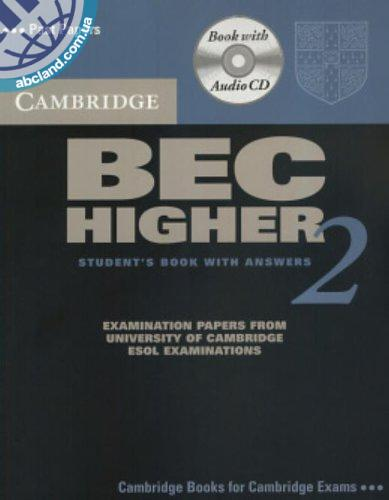Cambridge BEC 2 Higher SB + CD + key