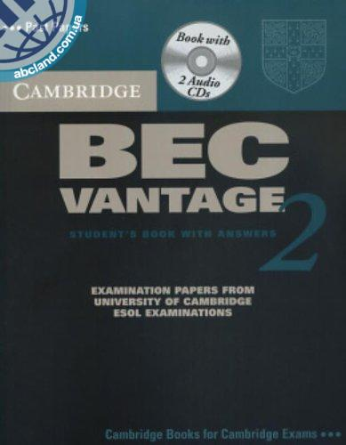 Cambridge BEC 2 Vantage SB + CD + key