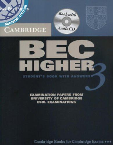 Cambridge BEC 3 Higher SB + CD + key