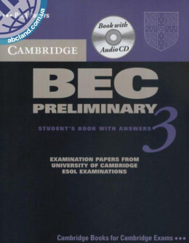 Cambridge BEC 3 Preliminary SB + CD + key