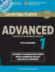 Cambridge English Advanced  (CAE) 1 SB + key