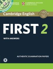 Cambridge English First 2 + CD + key
