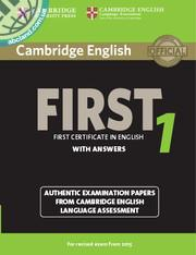 Cambridge English First (FCE) 1 SB + key