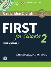 Cambridge English First for Schools 2 + CD + key