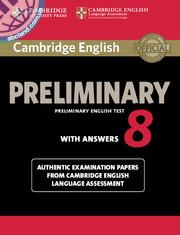 Cambridge English Preliminary (PET) 8 SB + key