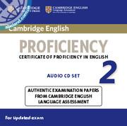Cambridge English Proficiency (CPE) 2 Audio CDs (2)