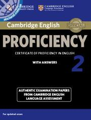 Cambridge English Proficiency (CPE) 2 SB + key