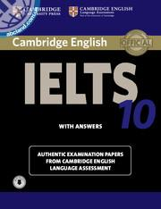 Cambridge IELTS 10 SB + key + Downloadable Audio