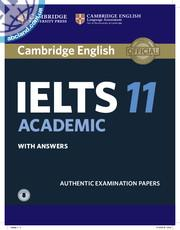 Cambridge IELTS 11 Academic SB + key + Downloadable Audio