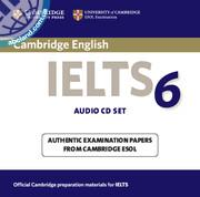 Cambridge IELTS 6 Audio CD