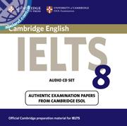 Cambridge IELTS 8 Audio CD