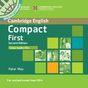 Compact First 2nd Edition Class Audio CDs (2)