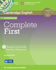 Complete First 2nd Edition TB + Teacher's Resources CD-ROM
