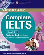 Complete IELTS Bands 4-5 SB + CD-ROM + Audio CD+ key