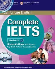 Complete IELTS Bands 4-5 SB + CD-ROM + key
