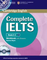 Complete IELTS Bands 4-5 WB + CD + key