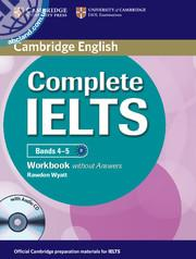 Complete IELTS Bands 4-5 WB + CD