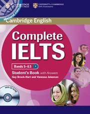 Complete IELTS Bands 5 - 6.5 SB + CD-ROM + key