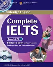 Complete IELTS Bands 6.5-7.5 SB + CD-ROM w/out key