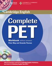 Complete PET WB + Audio CD