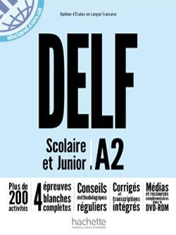 DELF A2 scolaire et junior Nouvelle Edition Livre + + DVD-ROM (audio et video)