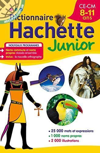 DICTIONNAIRE HACHETTE JUNIOR 8-11 ANS 2014