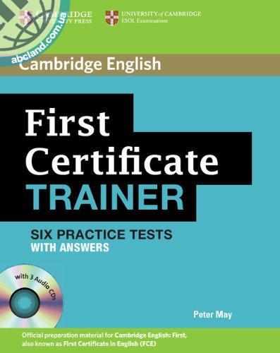 First Certificate Trainer Practice Tests + CD + key