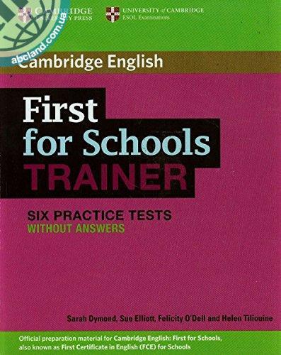 First for Schools Trainer Six Practice Tests (Снят с производства с остатком)