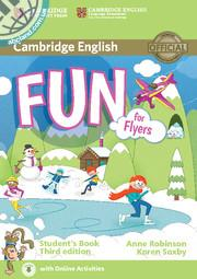 Fun for Flyers 3rd Edition SB + Downloadable Audio + Online Activities
