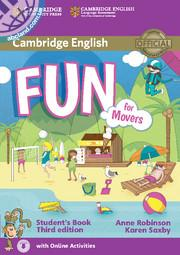 Fun for Movers 3rd Edition SB + Downloadable Audio + Online Activities