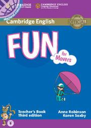 Fun for Movers 3rd Edition TB + CD
