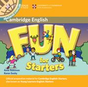 Fun for Starters 2nd Edition Audio CD