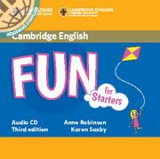 Fun for Starters 3rd Edition Audio CD