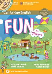 Fun for Starters 3rd Edition SB + Downloadable Audio + Online Activities