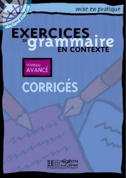 Grammaire - Avance' Corrige's