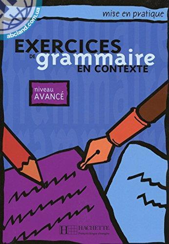 Grammaire - Avance' Livre