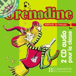 Grenadine : Niveau 1 CD audio classe (x2)