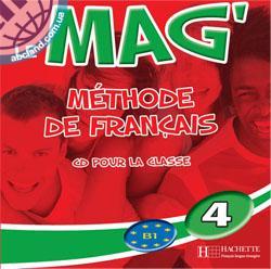 Le Mag' : Niveau 4 CD audio classe