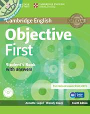 Objective First Student's Book + key + CD-ROM