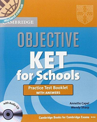 Objective KET for Schools Practice Test Booklet + key + Audio CD