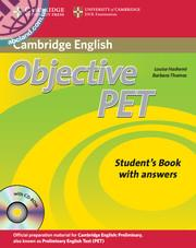 Objective PET Student's Book + key + CD-ROM + Audio CD